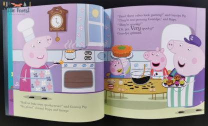 świnka peppa książki po angielsku halloween