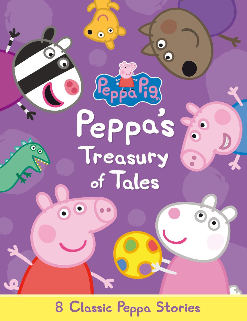 świnka peppa zbiór książek po angielsku