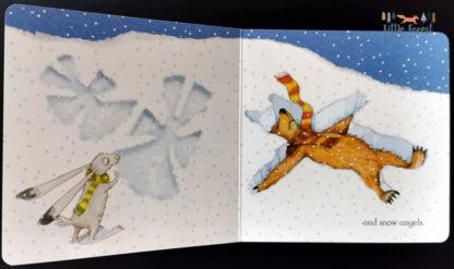 książki dla dzieci po angielsku zima śnieg