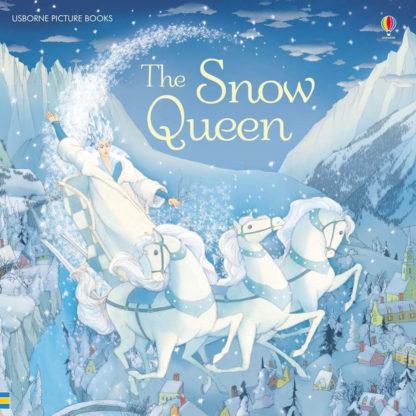 królowa śniegu książka dźwiękowa po angielsku usborne