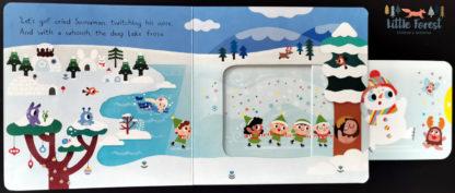 ksiązka o bałwanku dla dzieci