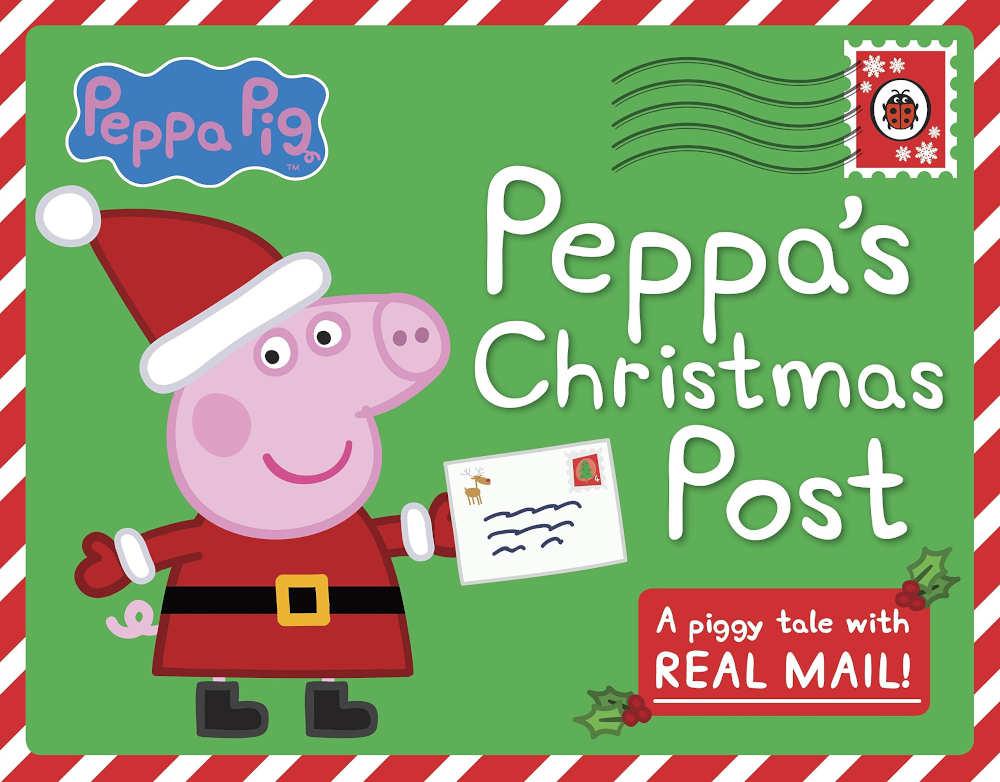 świnka peppa książki z listami