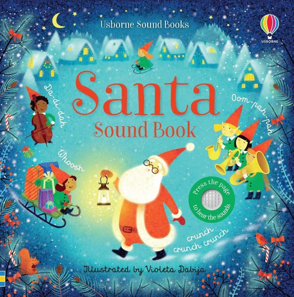 książki na święta dźwiękowe dla dzieci po angielsku usborne