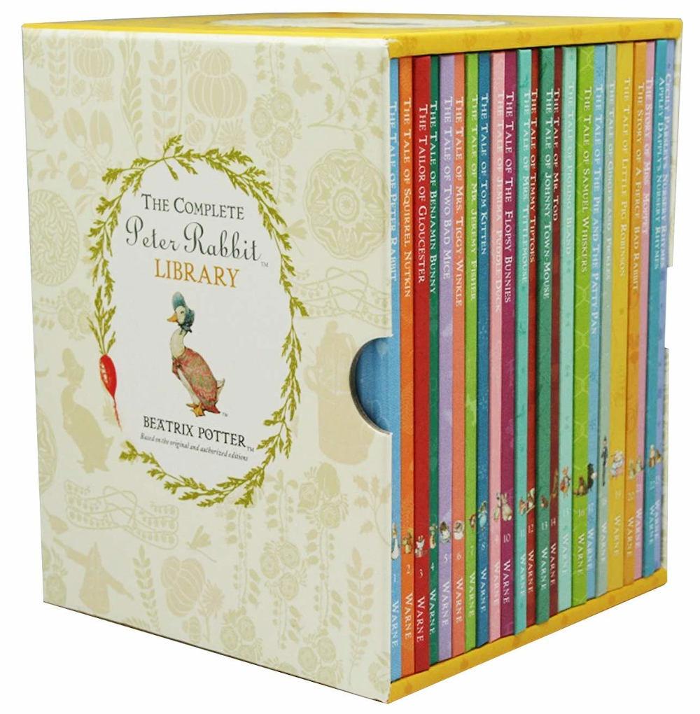 piotruś królik biblioteczka dla dzieci po angielsku