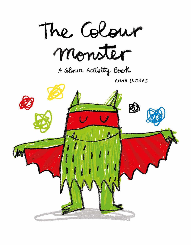kolorowy potwór kolorowanka