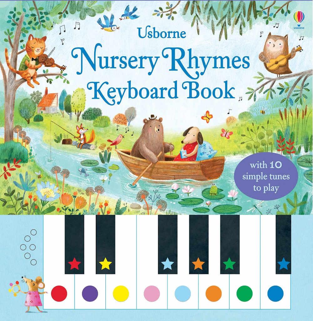 książka z pianinkiem dla dzieci