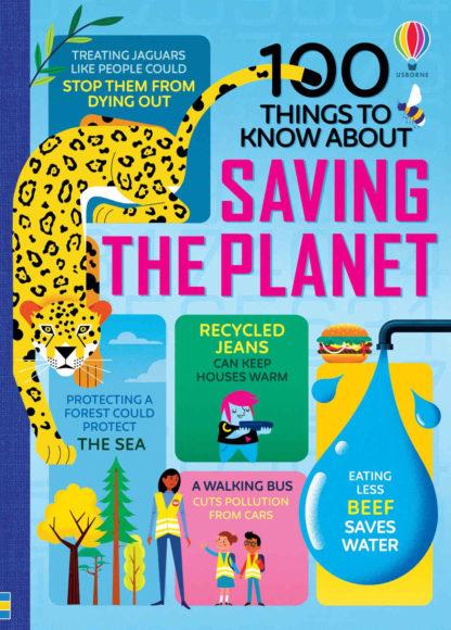 książka edukacyjna usborne planeta ziemia po angielsku