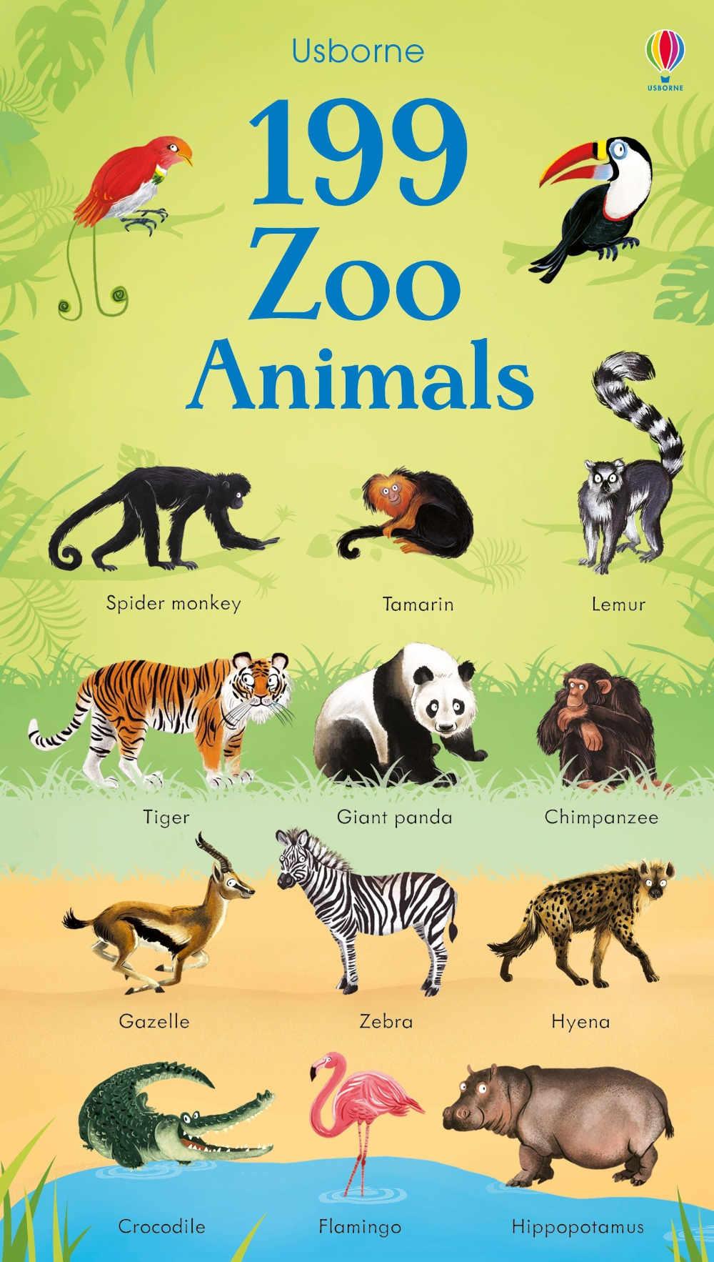 słownik obrazkowy dla dzieci po angielsku zwierzęta
