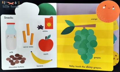 książka sensoryczna dotykowa po angielsku dla roczniaka