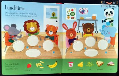 usborne ksiązka z okienkami dla dzieci po angielsku