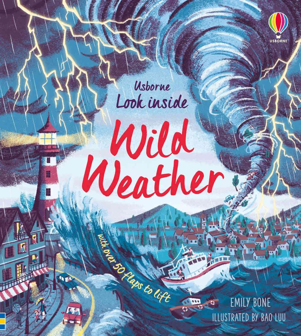 książka o pogodzie z okienkami po angielsku