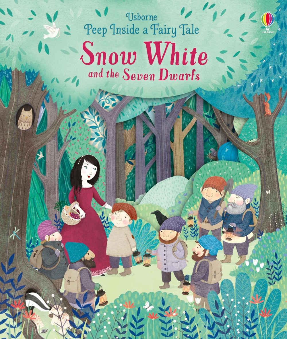 książka Królewna Śnieżka i Siedmiu Krasnoludków po angielsku