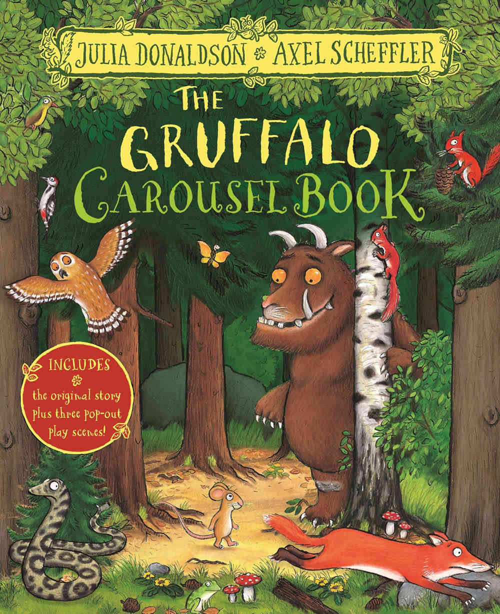 the gruffalo ksiazka 3D