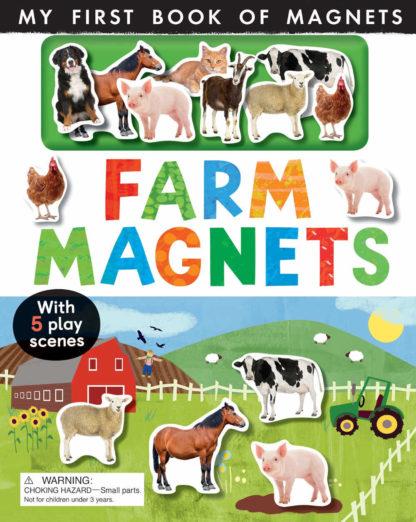 książka z magnesami zwierzęta