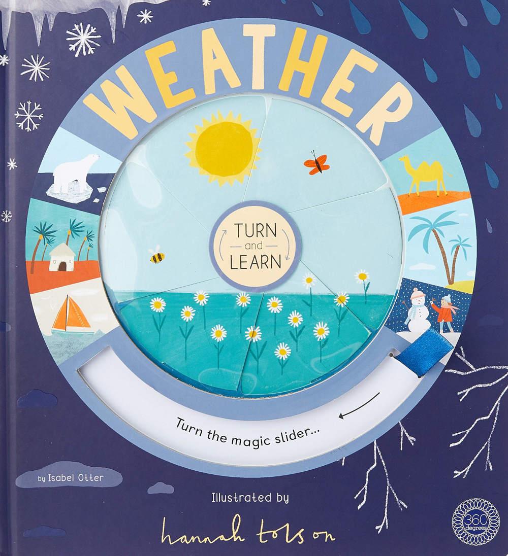 książka edukacyjna pogoda po angielsku