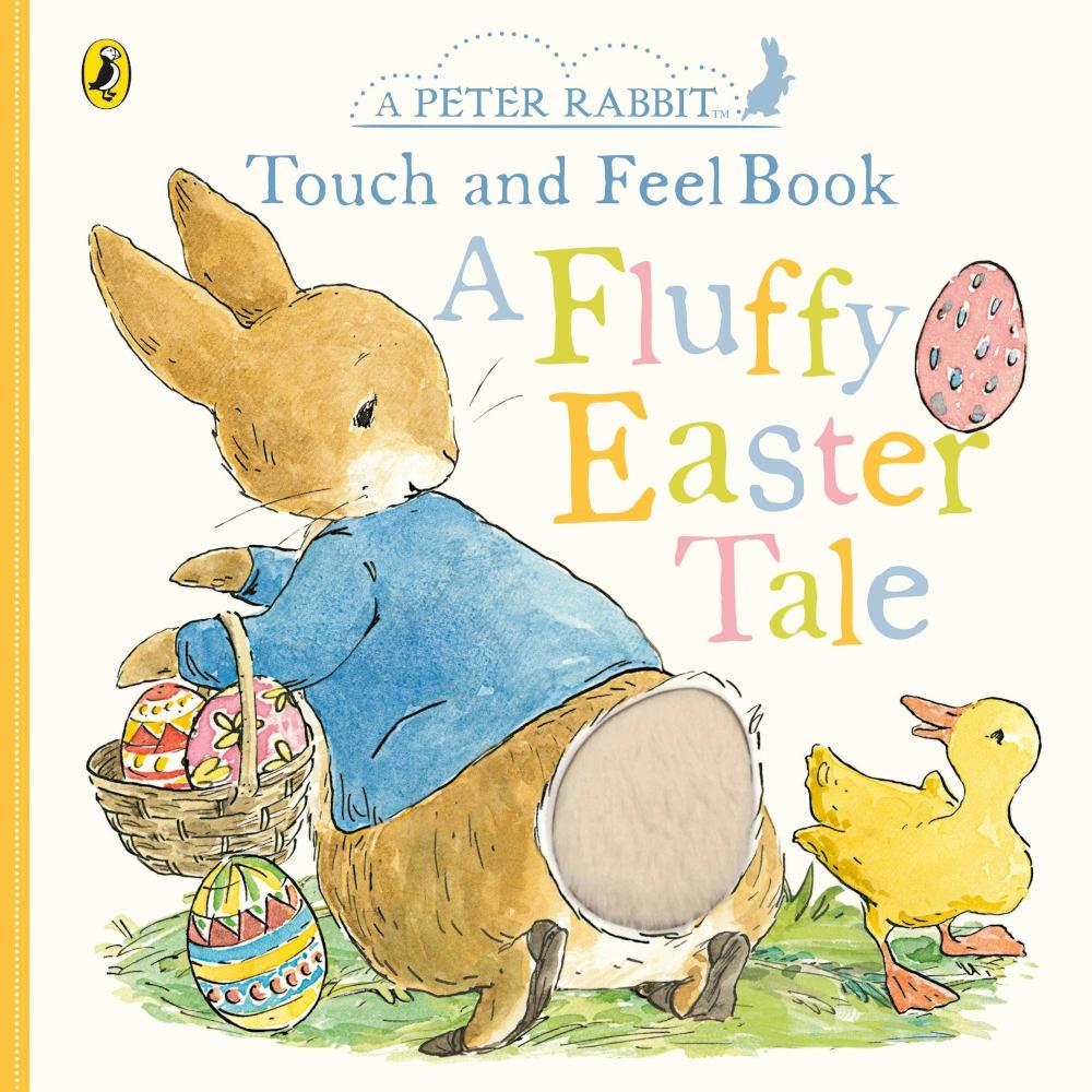 piotruś królik ksiązka sensoryczna dotykowa po angielsku wielkanoc