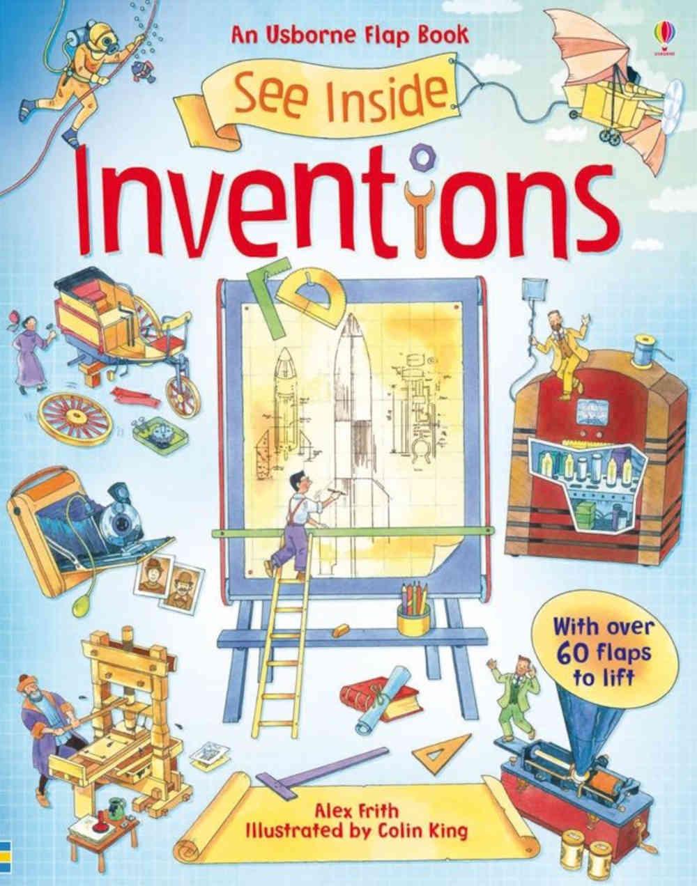 książka o wynalazkach dla dzieci