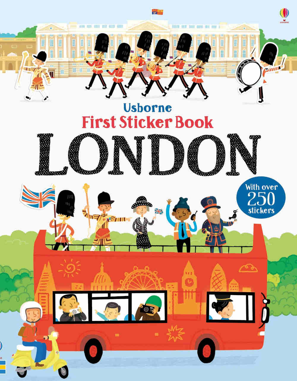 londyn naklejki ksiazki dla dzieci