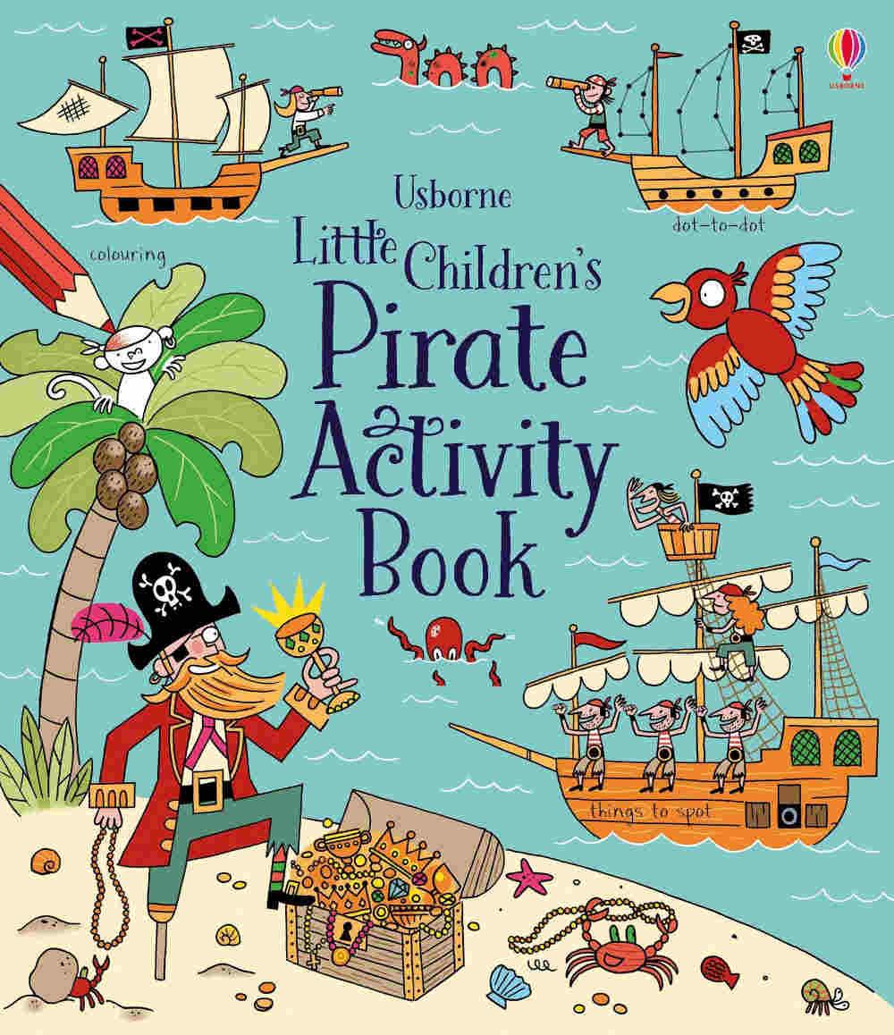piraci książki z zadaniami i łamigłówkami dla dzieci po angielsku