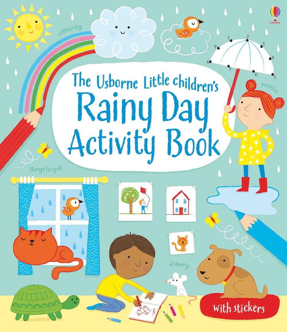 usborne ksiązki kreatywne z zadaniami dla dzieci