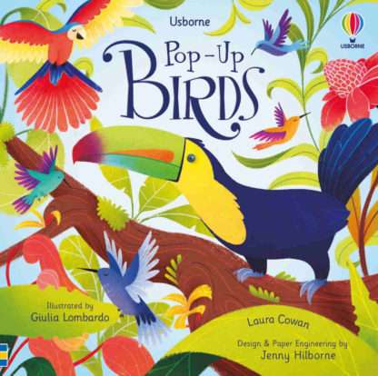 ptaki ksiązka dla dzieci trójwymiarowa 3D
