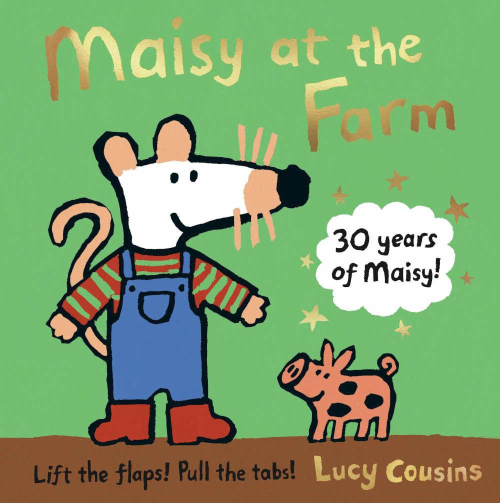 mysia maisy książka dla dzieci farma po angielsku