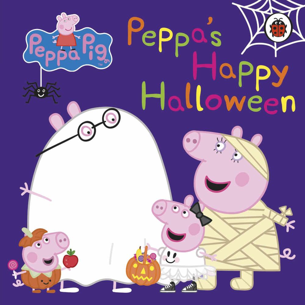 świnka peppa książki dla dzieci po angielsku halloween