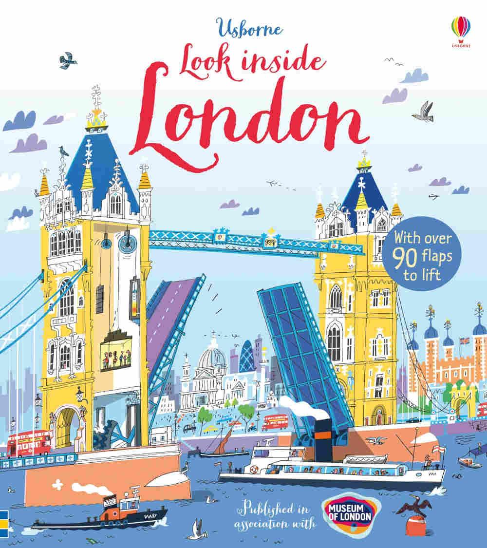 londyn ksiazka dla dzieci po angielsku usborne