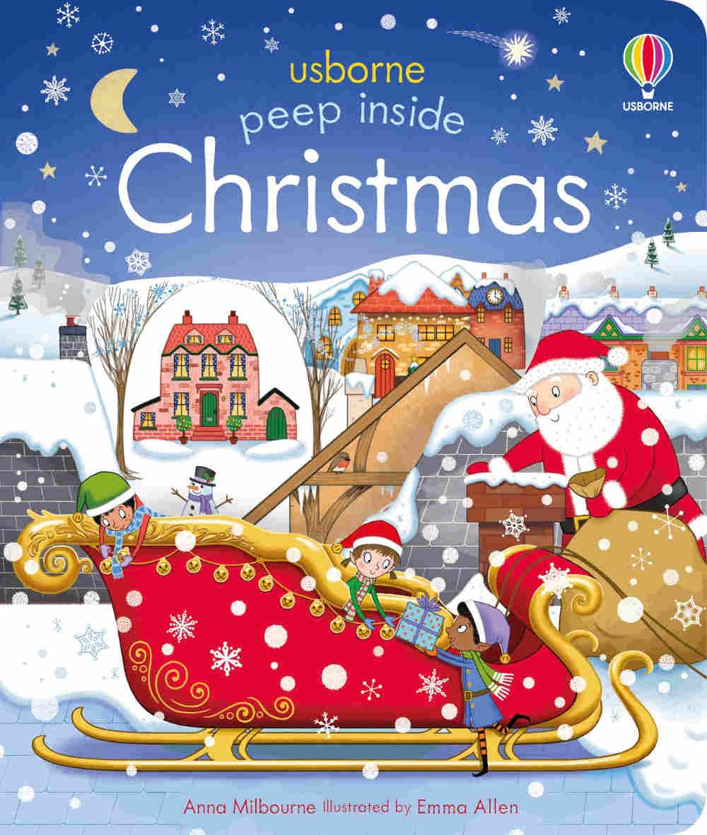 usborne książki dla dzieci prezent na świeta i boże narodzenie