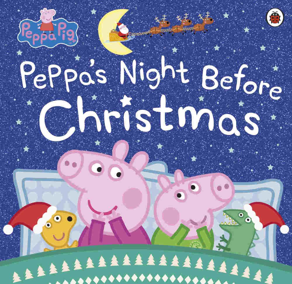 świnka peppa książki po angielsku święta boże narodzenie